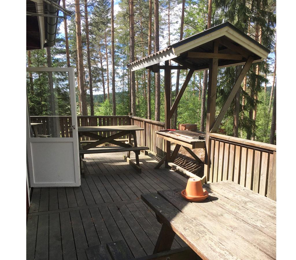 Samlingslokal för 30 personer i hoks naturcamping